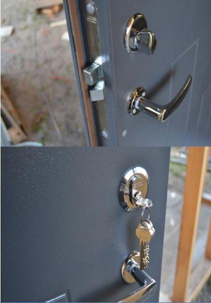 Šarvo durų spyna